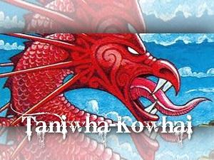 Taniwha-Kowhai Logo