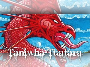 Taniwha-Tuatara Logo