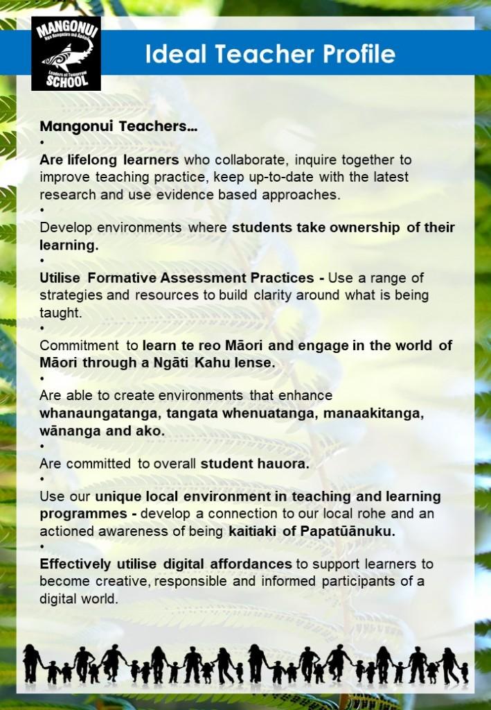 Ideal Teacher Profile