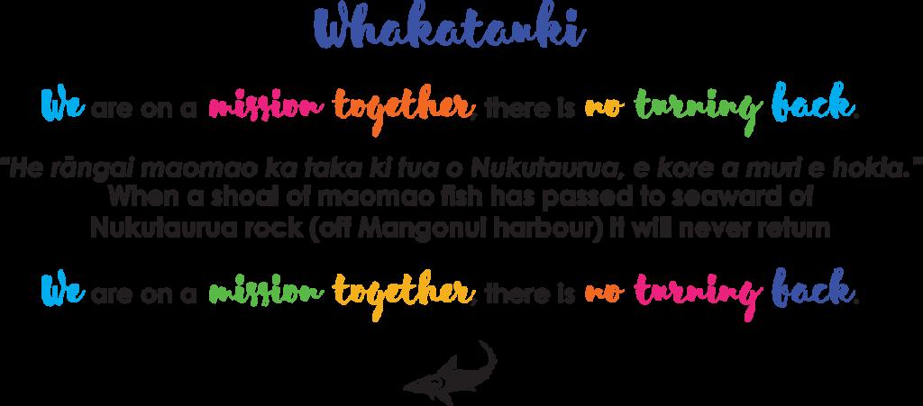 Mangonui School Whakatauki